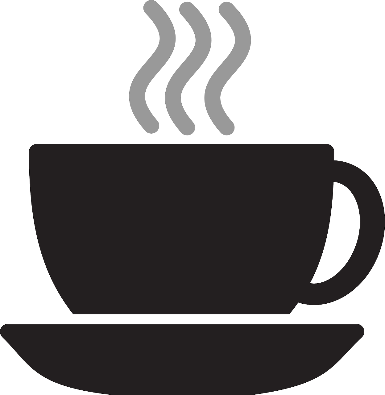 royalty free stock steam drawing coffee mug #103775286