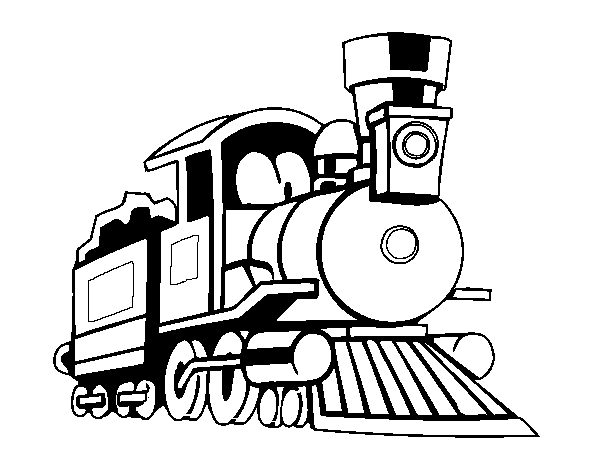 picture royalty free download Train Rail transport Steam locomotive Coloring book Drawing
