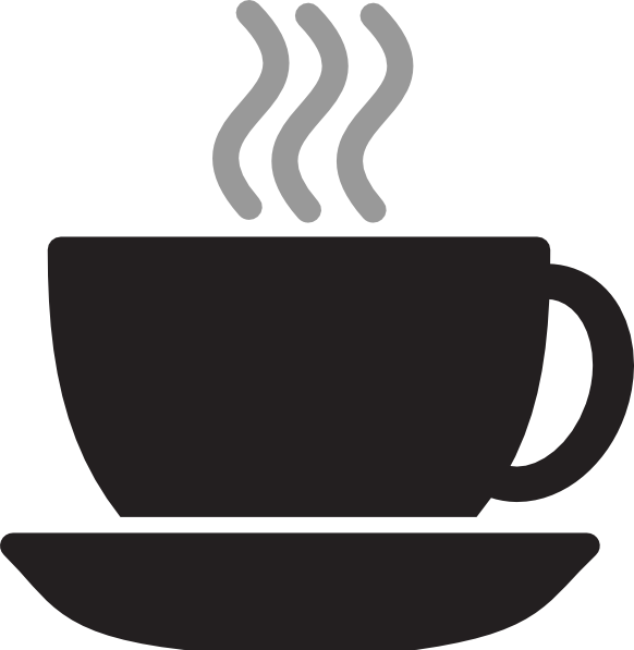vector free stock Clip art at clker. Steaming cup of coffee clipart
