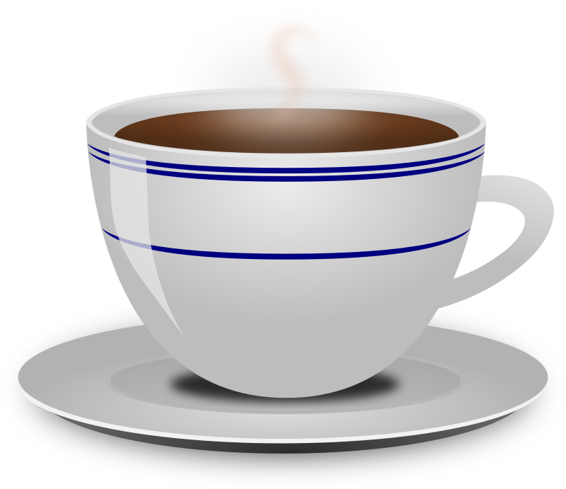 clip library stock Steaming cup of coffee clipart. Medium image png