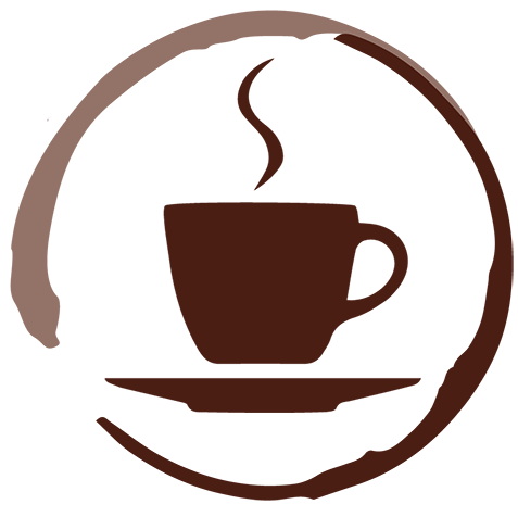 jpg royalty free stock Logo the steamingcuplogo. Steaming cup of coffee clipart