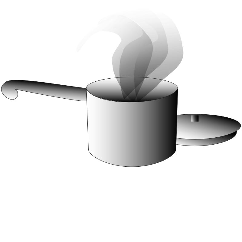 png freeuse Steaming Pot Clipart