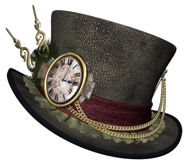 svg free library Wonderland clipart top hat. Steampunk png picture halloween