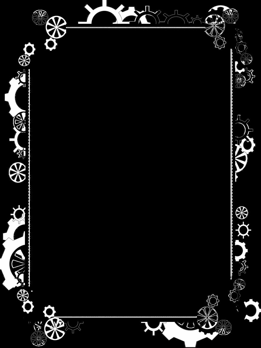 svg black and white stock Steampunk Clip art