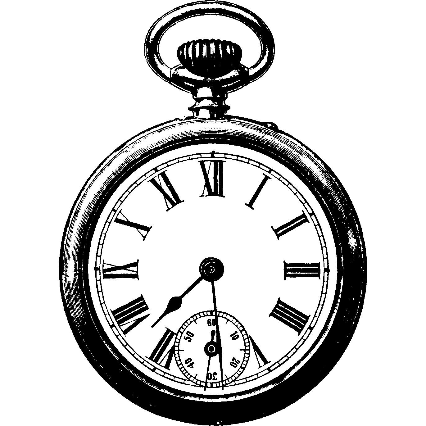 graphic royalty free library Vintage Clock Png