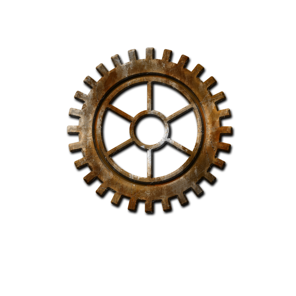 svg free library Steampunk Gear Transparent Background