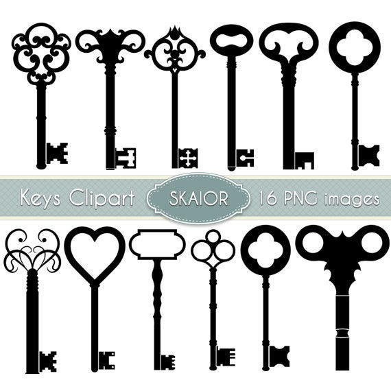 clipart freeuse stock Vintage skeleton clip art. Steampunk key clipart