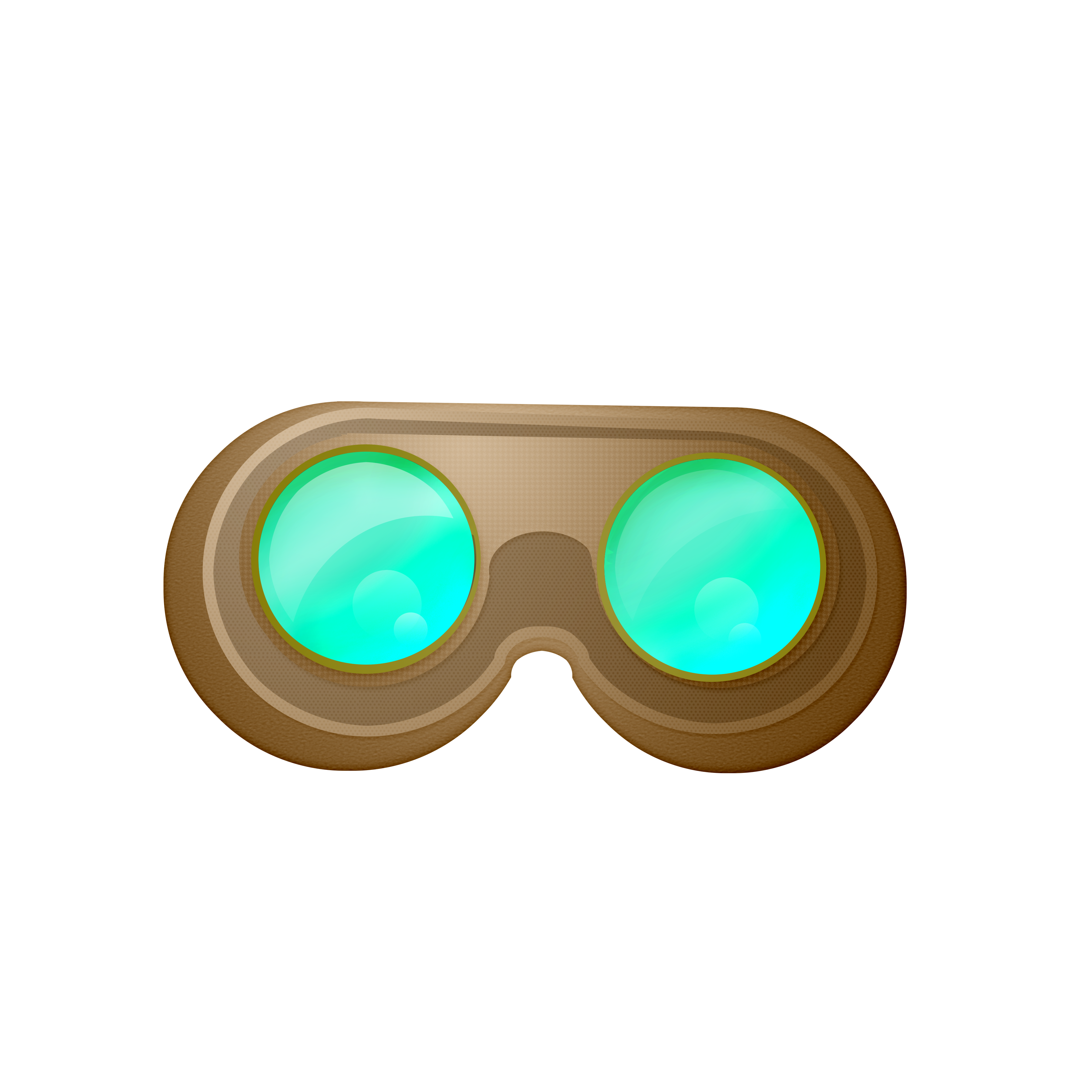 vector free download  collection of goggles. Steampunk key clipart