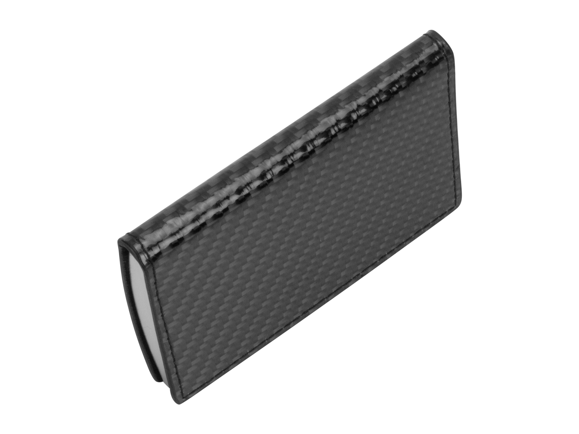clip free Flexy Carbon Fiber Business Card Holder