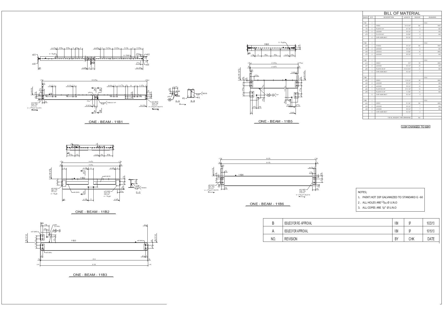 picture royalty free library Sample Drawing for Construction and Structural Steel Industry