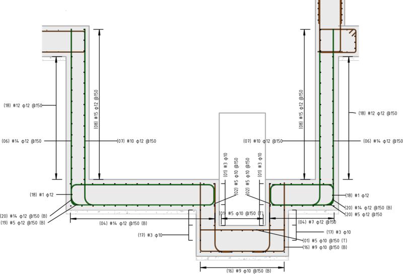 clipart transparent library Rebar detailing in Revit