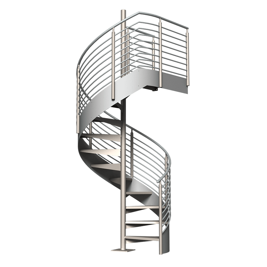 png royalty free Classic Spiral Stair Kit