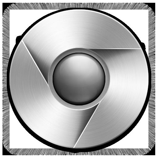 transparent steel vector chrome metal #103824949