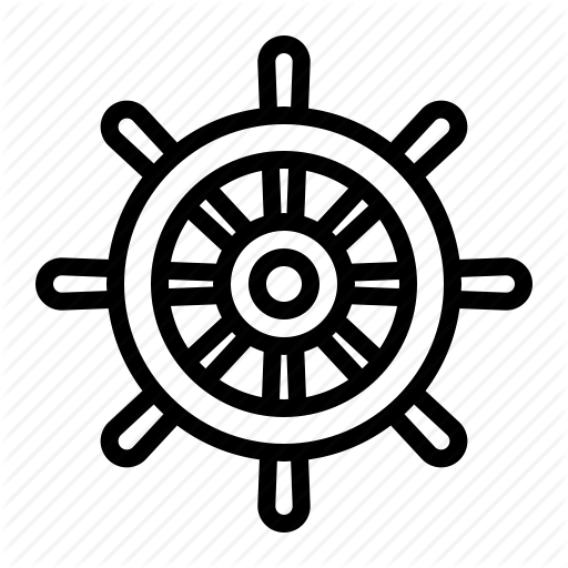 graphic library download Ship Wheel Drawing at GetDrawings