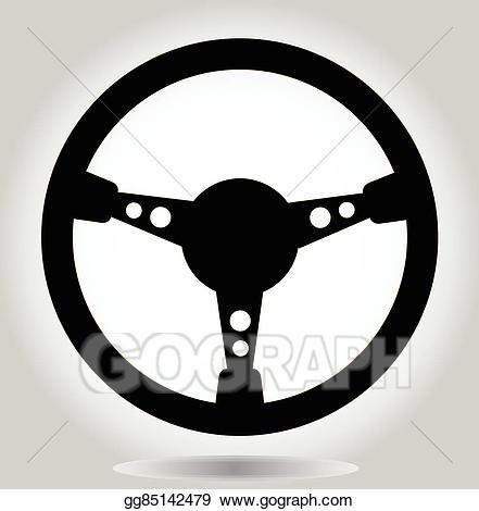 png free library Steering clipart racing wheel. Eps illustration vector
