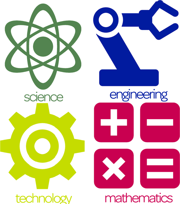 image black and white library Stem clipart. Classes and programs joco.