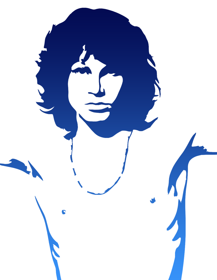 graphic royalty free download jim morrison