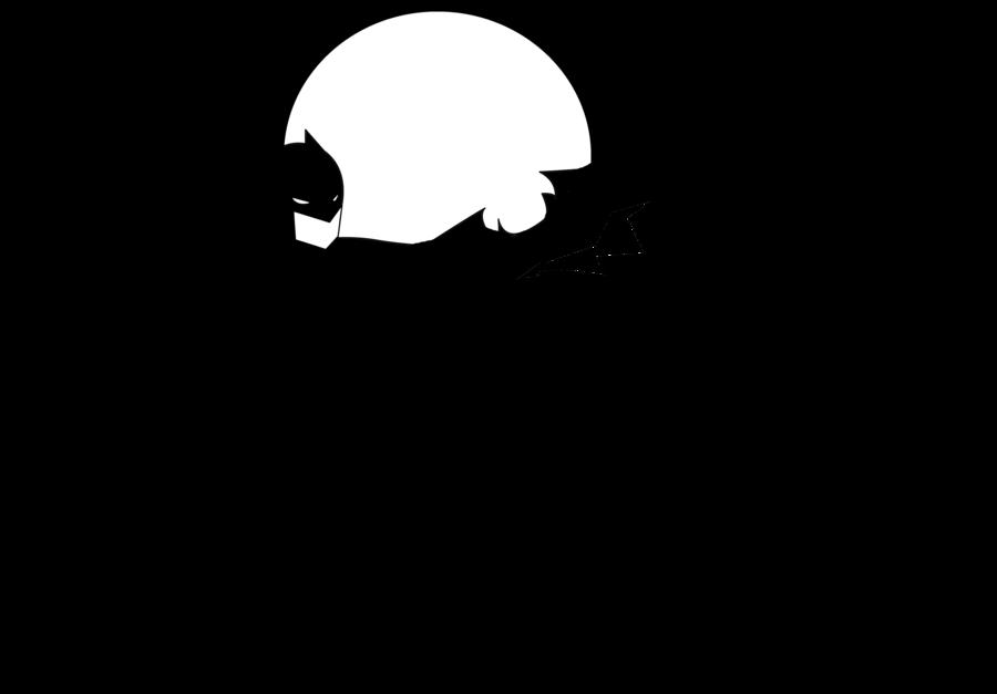 jpg royalty free library Bat Silhouette Template at GetDrawings