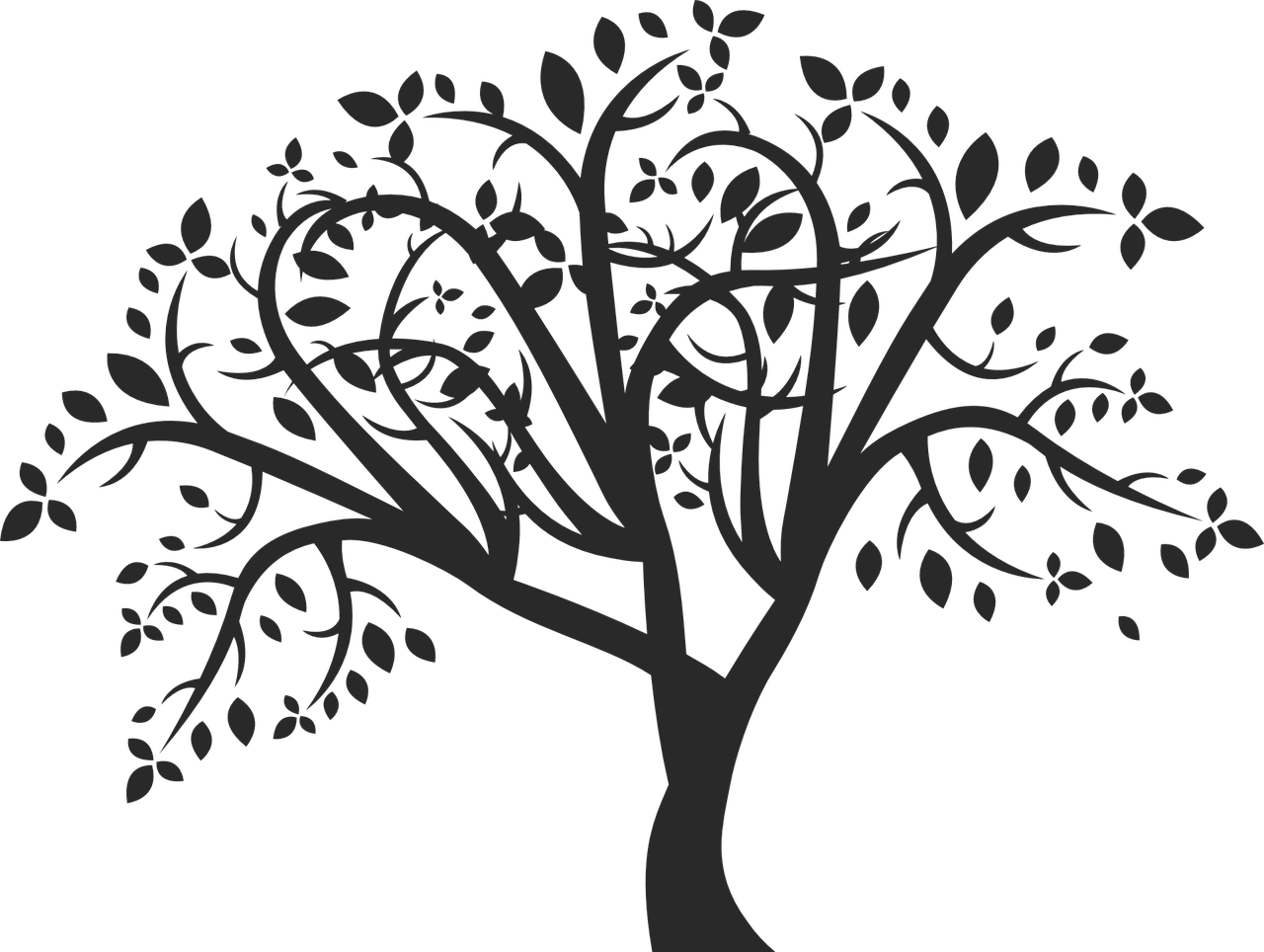banner royalty free download How to draw a tree