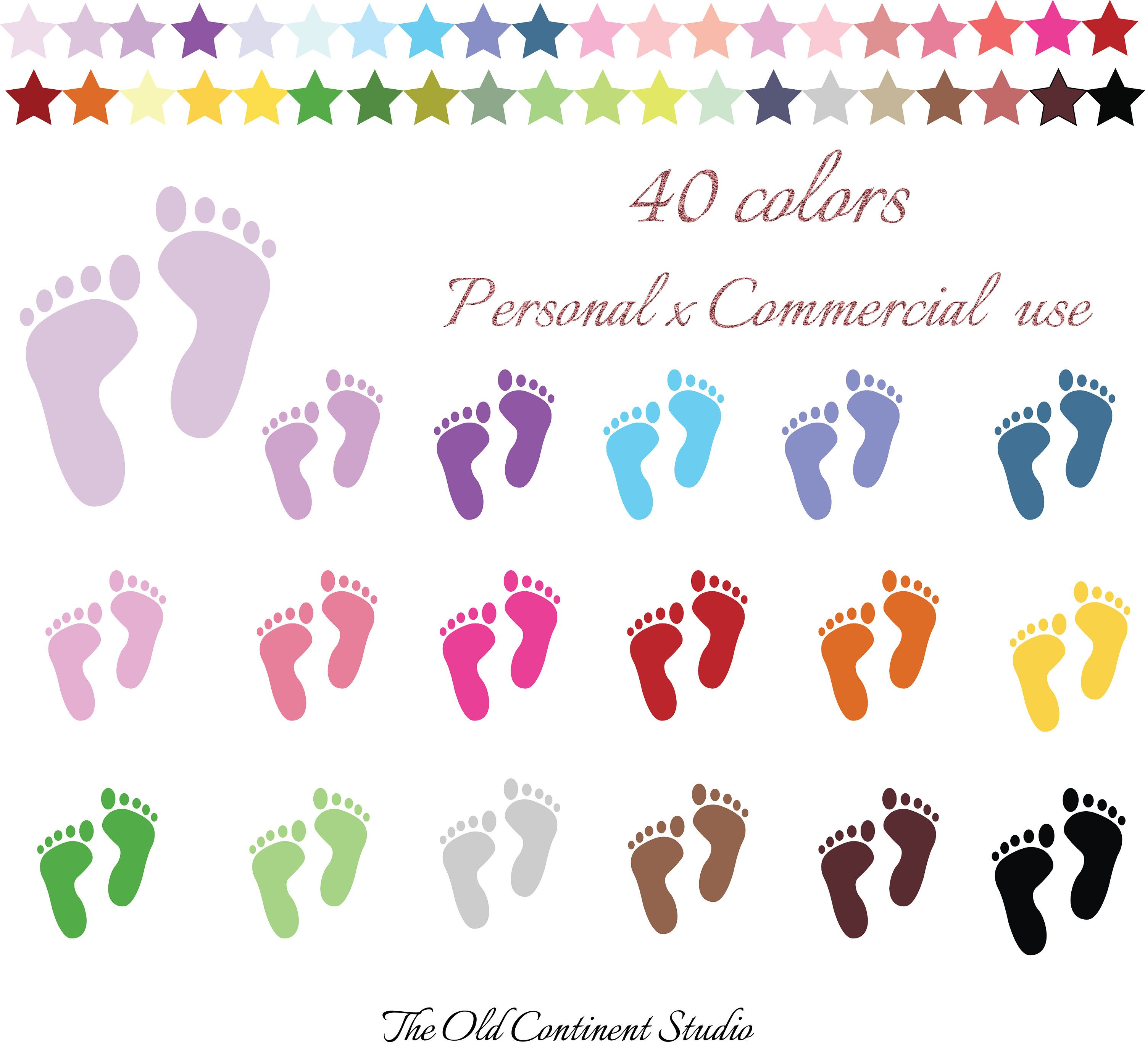 picture black and white stock  colors clip art. Steps clipart baby foot