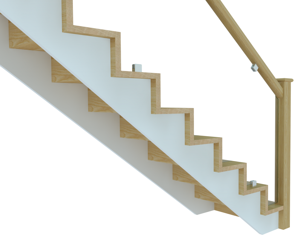clipart freeuse library Steps clipart stair side view. Full flight a design