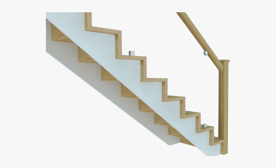banner transparent library Steps clipart stair side view. Stairs staircase modern cut