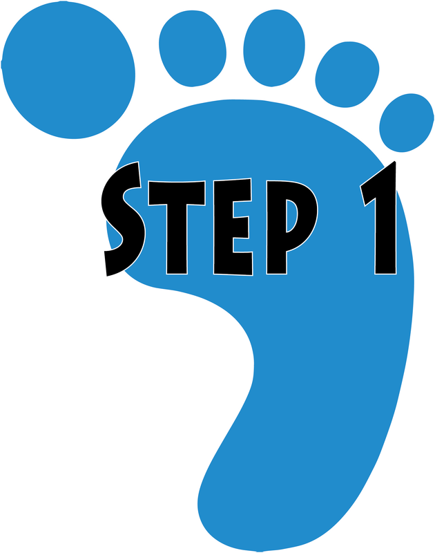 royalty free download Steps clipart step 1. How does it work.