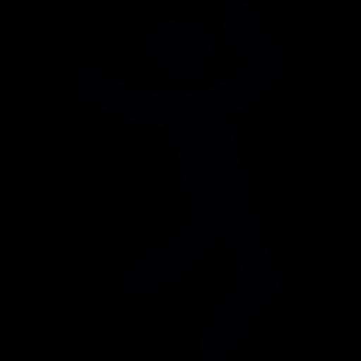 banner stickman transparent jumping #115904530