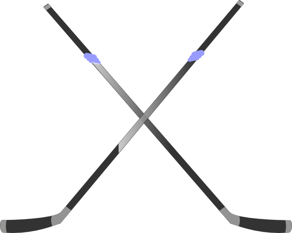 clip art library stock Double Hockey Stick Clip Art at Clker