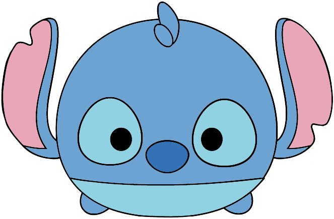graphic freeuse Drawing stitch step by. Disney tsum clip art
