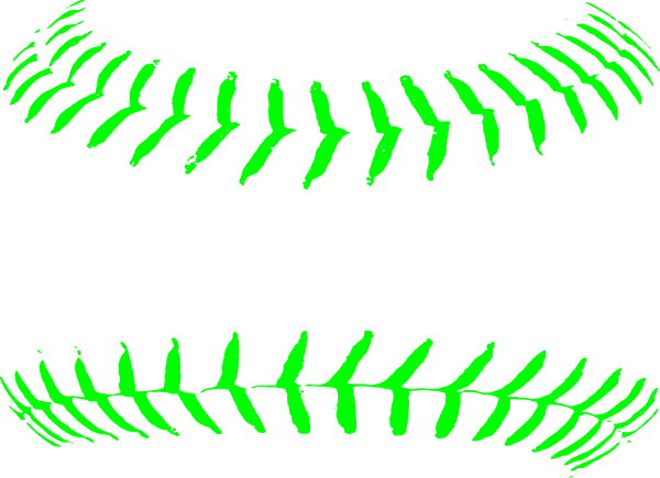 graphic Softballstitches clip art at. Green clipart softball
