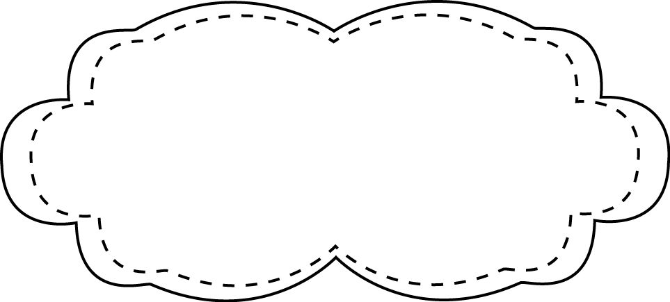 clipart black and white Stitched frame graphics pinterest. Stitches clipart.