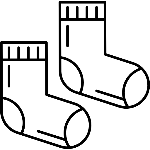 clip free download Sock icon page. Stocking clipart black and white