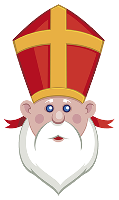clipart royalty free Breakfast with who is. Stocking clipart day st nicholas