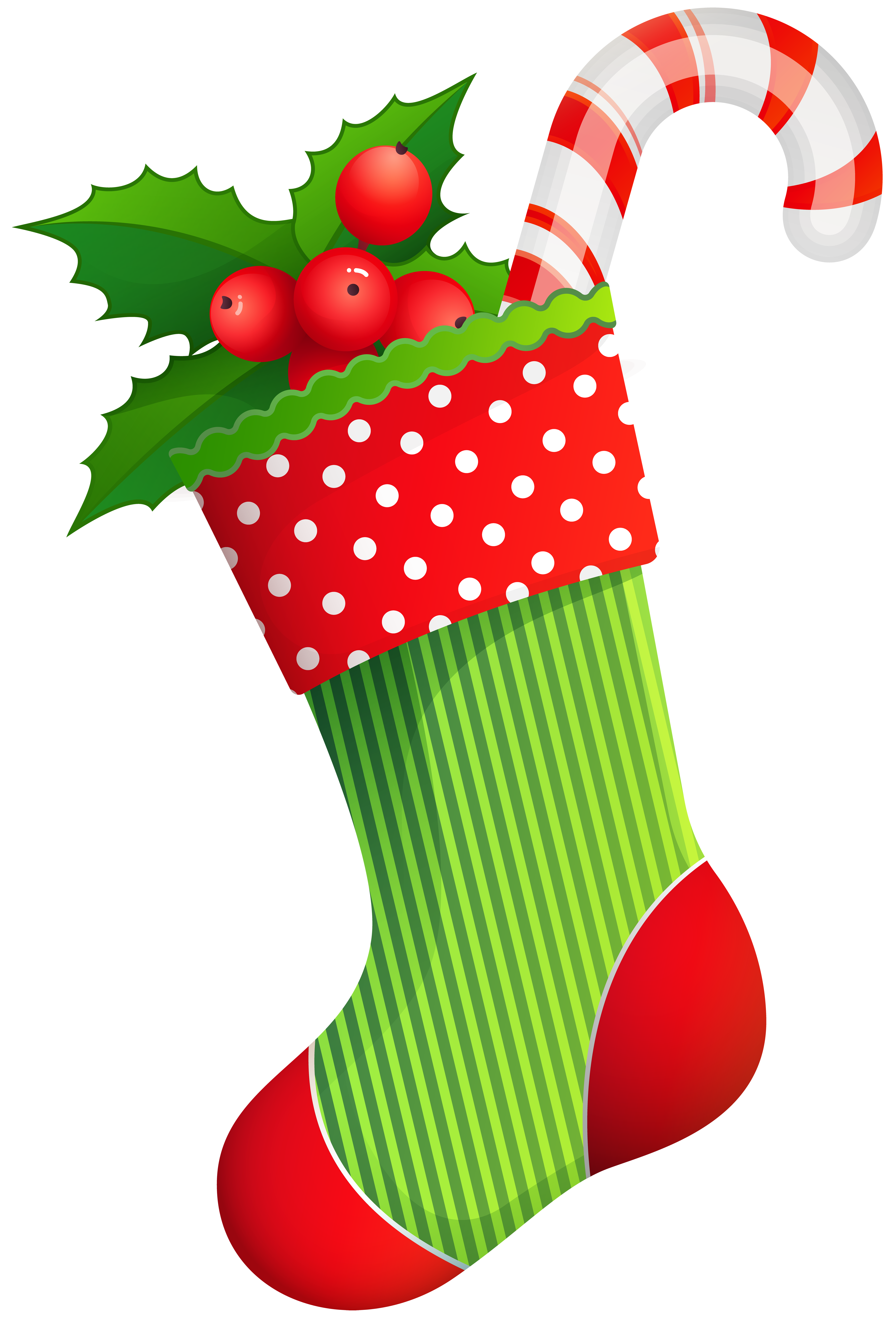 graphic transparent christmas stockings clipart #61006803