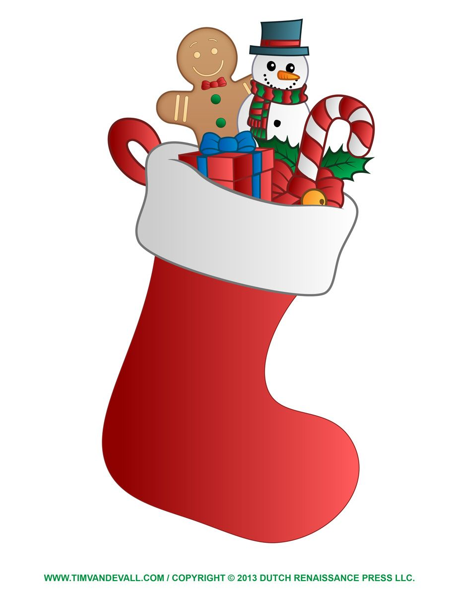 png transparent Christmas clip art free. Stockings clipart.