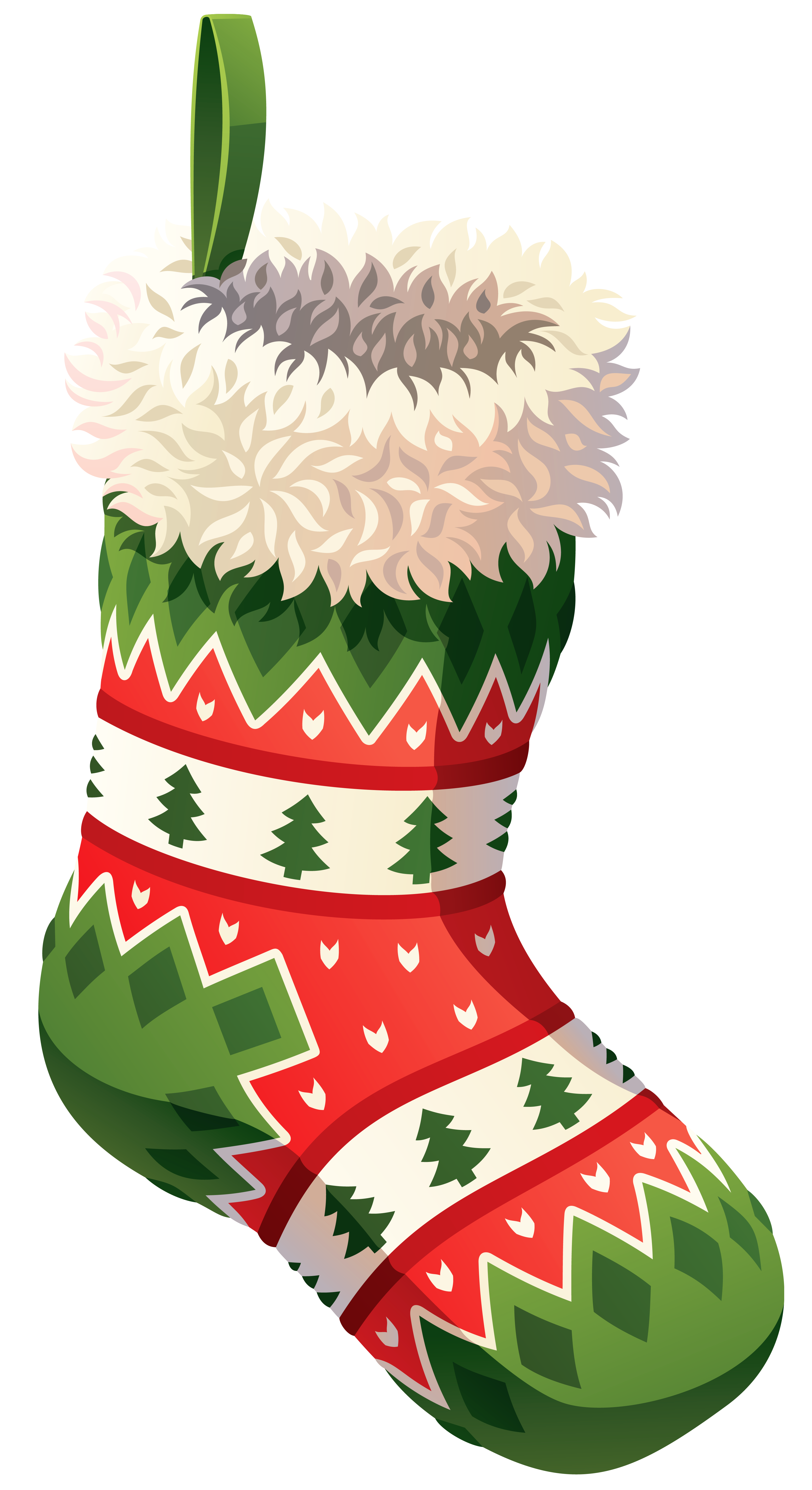 graphic transparent stock Christmas free download clip. Stockings clipart.