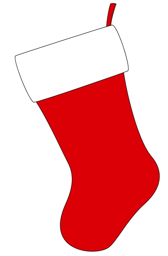 vector free stock Christmas free . Stocking clip stockings clipart.