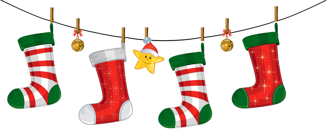 image free stock Prissy design christmas father. Stockings clipart.
