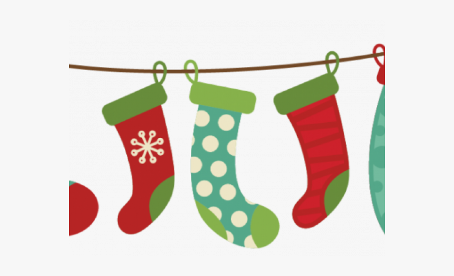 black and white stock Stockings clipart. Christmas ornament green stocking.