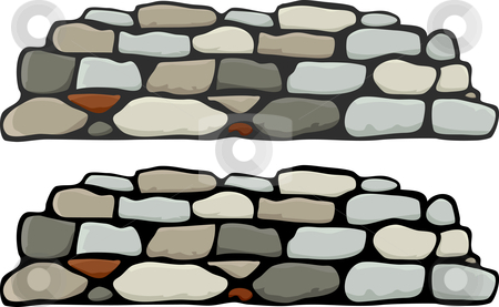 clip library download Download panda free . Stone wall clipart