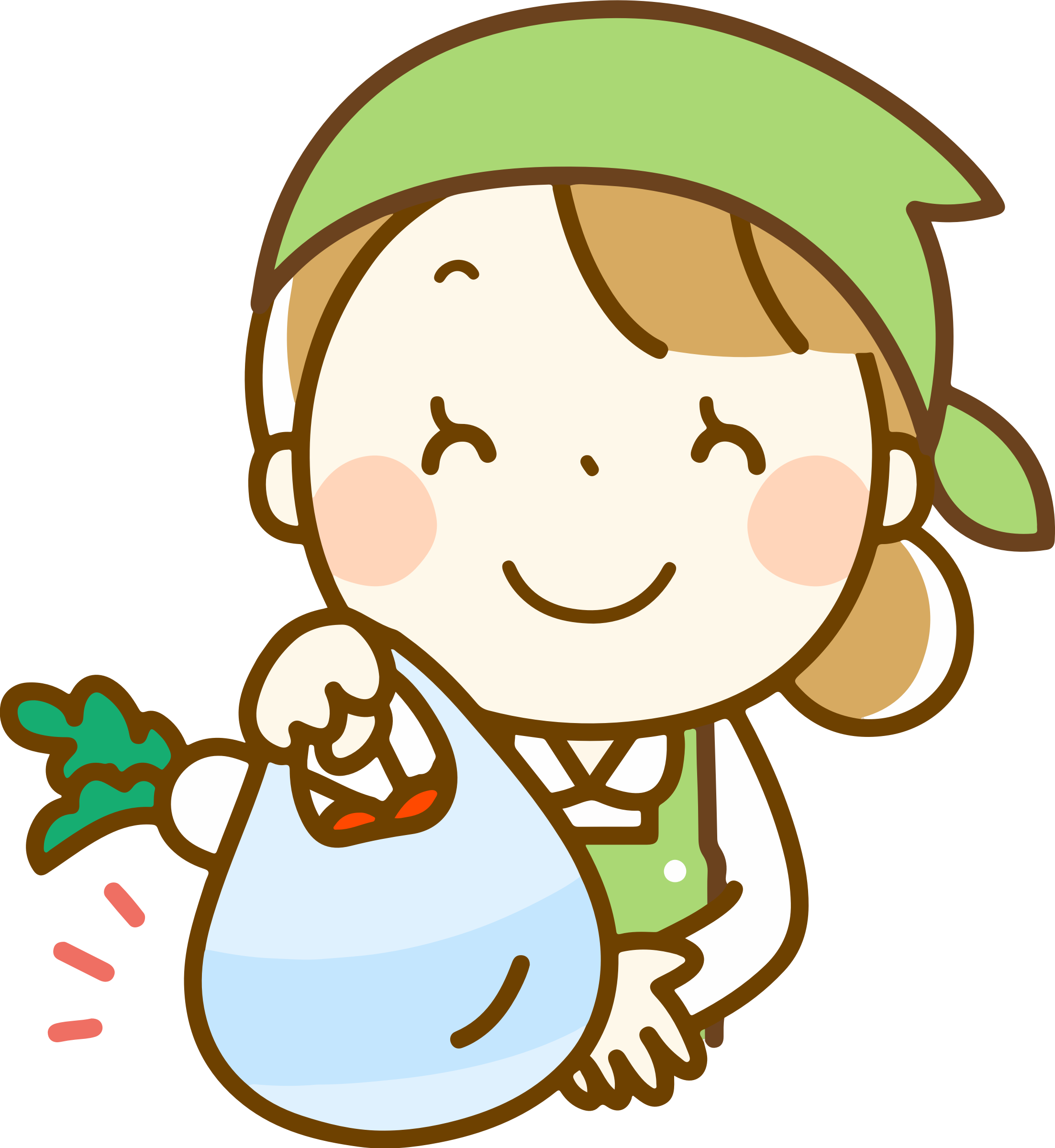 clip free Supermarket clipart cute store. Grocery clerk big image.
