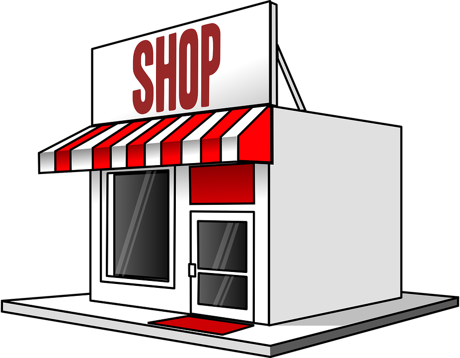 clipart free library Shop Clipart shopping store