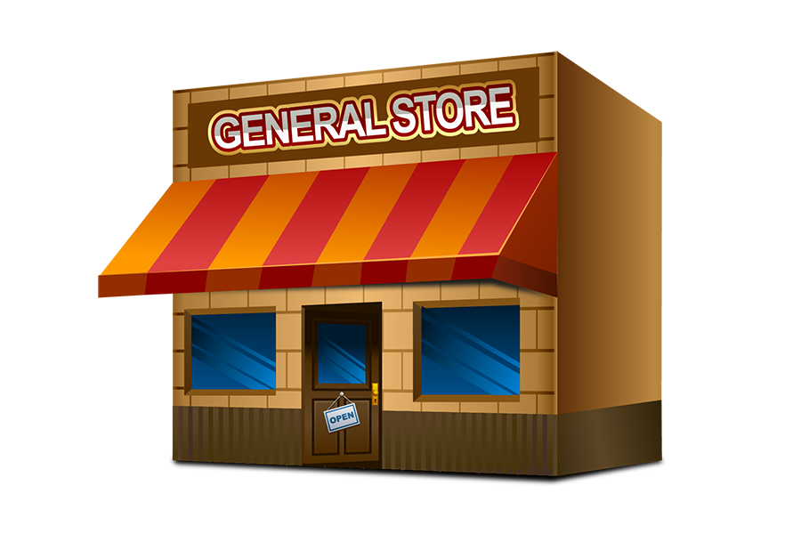 clipart freeuse storefront clipart general store #50236740
