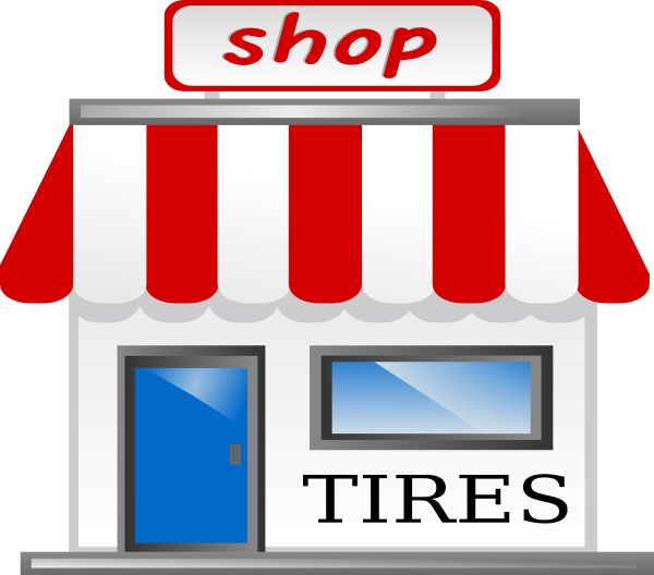 banner free stock Tire Shop Clip Art at Clker