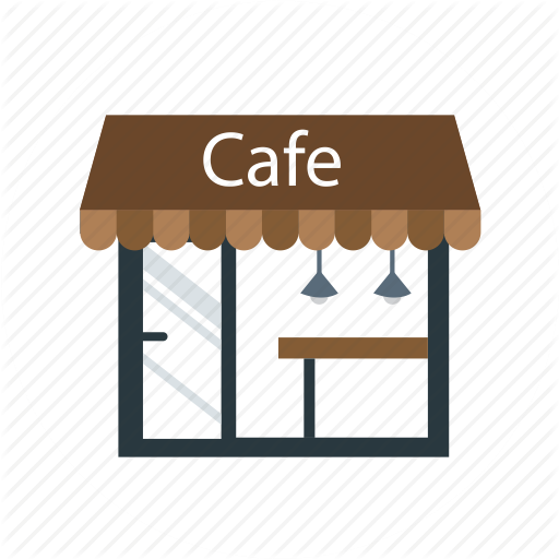 clip royalty free download Png coffee shop transparent. Store vector illustrator