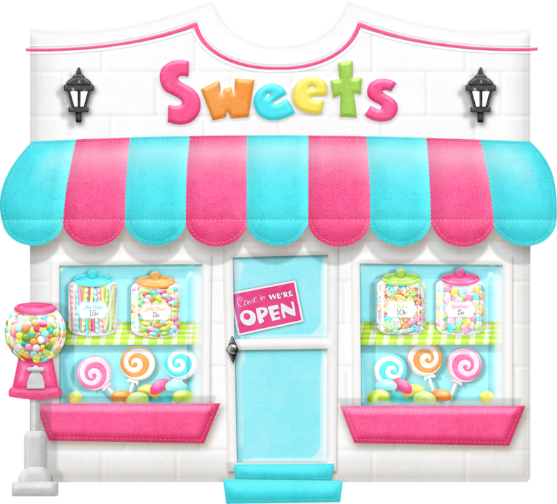image download Candyshop maryfran png pinterest. Supermarket clipart cute store