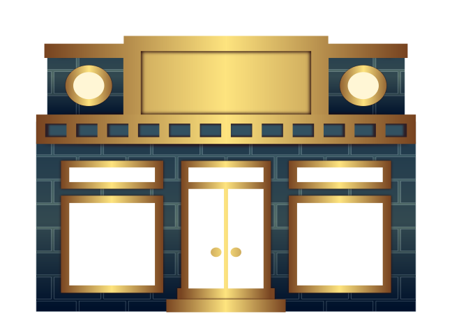picture freeuse library Storefront clipart. Free cliparts download clip
