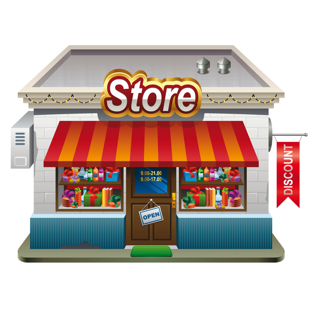 banner free stock grocery store building clipart #60193687