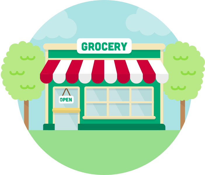 jpg transparent stock Grocery Store Drawing at GetDrawings